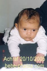 bébé Achraf