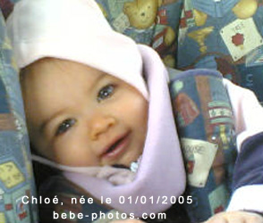 bébé Chloé