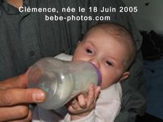 bébé Clémence