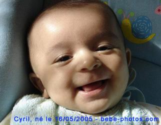 bébé cyril