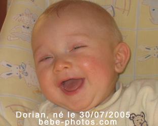 bébé Dorian