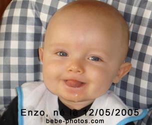 bébé Enzo