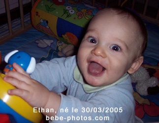 photo de bébé Ethan