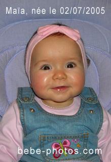 bébé Maia