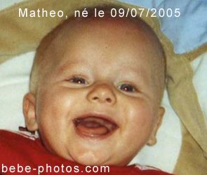 bébé Matheo
