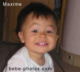 bébé Maxime