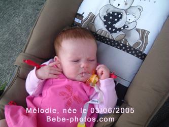 bébé Mélodie