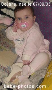 photo de bébé Océane