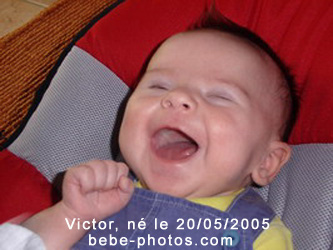 photo de bébé Victor