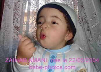 bébé Zainab